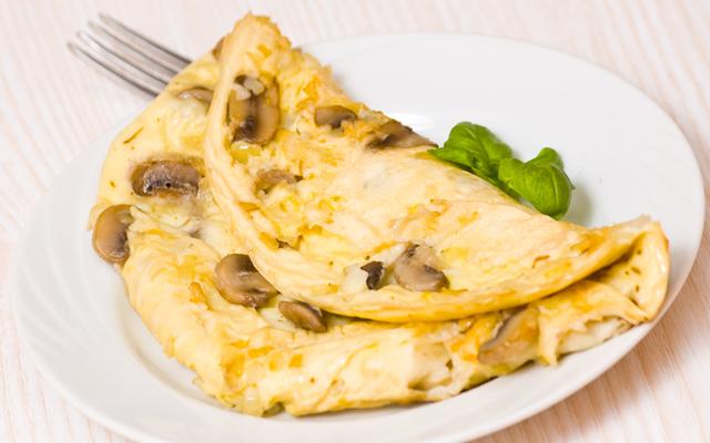 mantarli-omlet