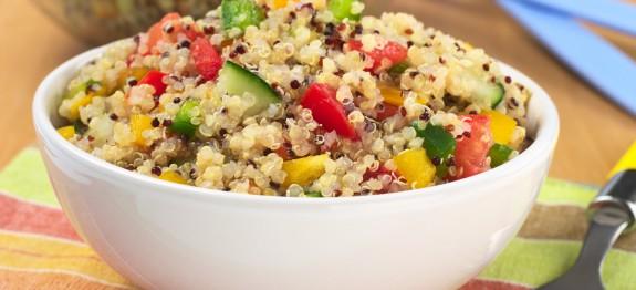 Kinoa-Salatası